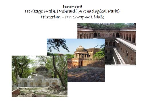 Heritage Walk - Mehrauli Archaeological Park