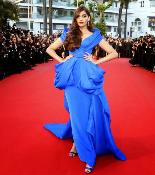 Fashion Police 2015 Cannes Sonam Kapoor looked ravishing