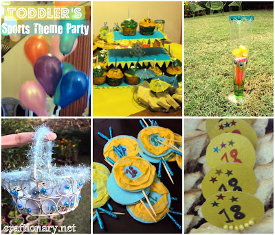 toddlers party ideas