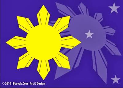 8 rays in Philippine Flag