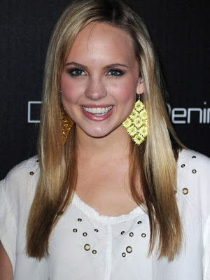Meaghan Martin Gold Chandelier Earrings