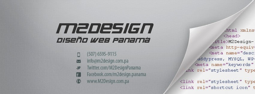 M2Design Diseño Web Panamá
