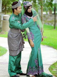 Design Baju Perkhawinan Lelaki Wanita