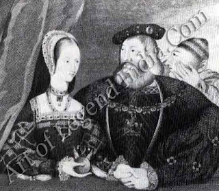 Royal romance, When the old king of France, Louis XII, died on New Year's Day 1515, his young wife secretly rejoiced. Mary Tudor was now free to marry for love, her chosen partner being Charles Brandon, Duke of SOO& Her brother, Henry VIII of England, was initially against the match but in 6 the face of Mary's determination he gave way and they married in May.