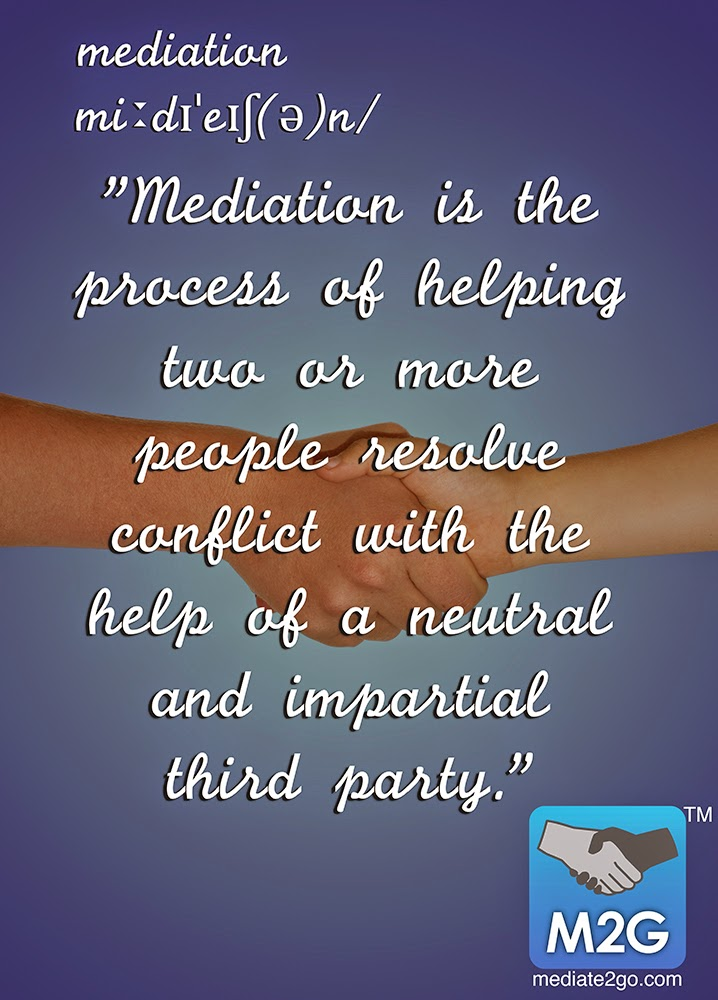 The Definition of Mediation
