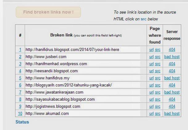 Blog Maintenance Penting Untuk Blogger