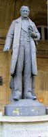 George Stephenson en la estación de trenes General Artigas, Montevideo, Uruguay