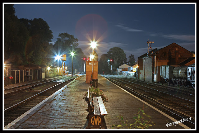 Severn Valley Railway - Bewdley Station Platform at Night