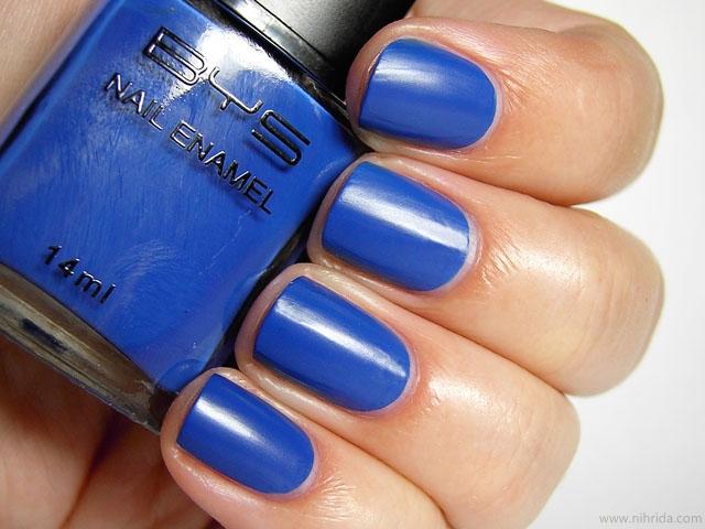 BYS Matte Blue