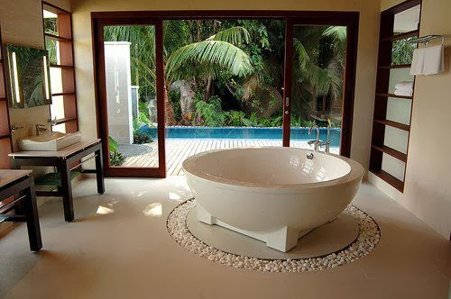 Tub With A View: Zen Bathroom