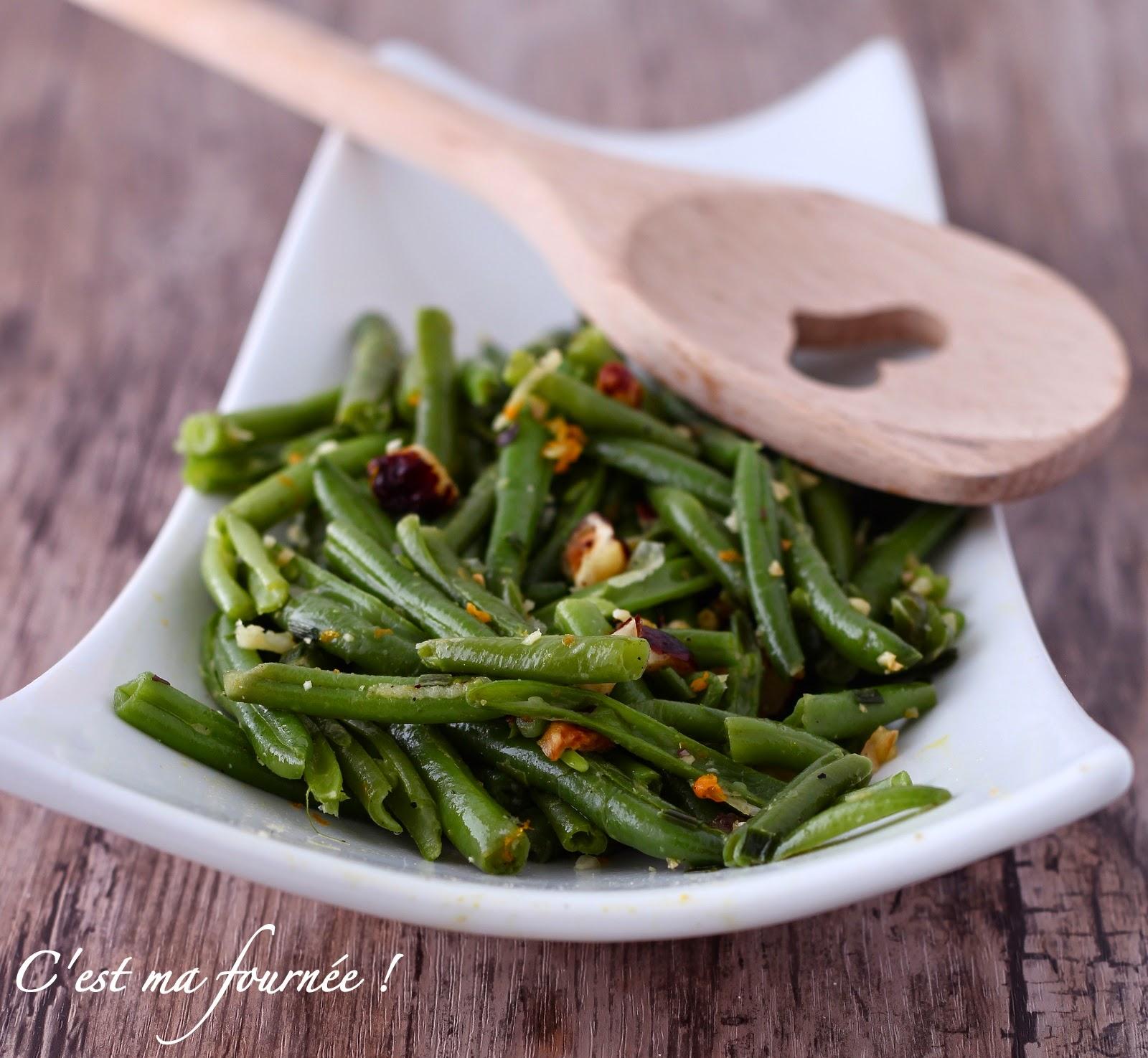 La salade d'haricots verts d'Ottolenghi