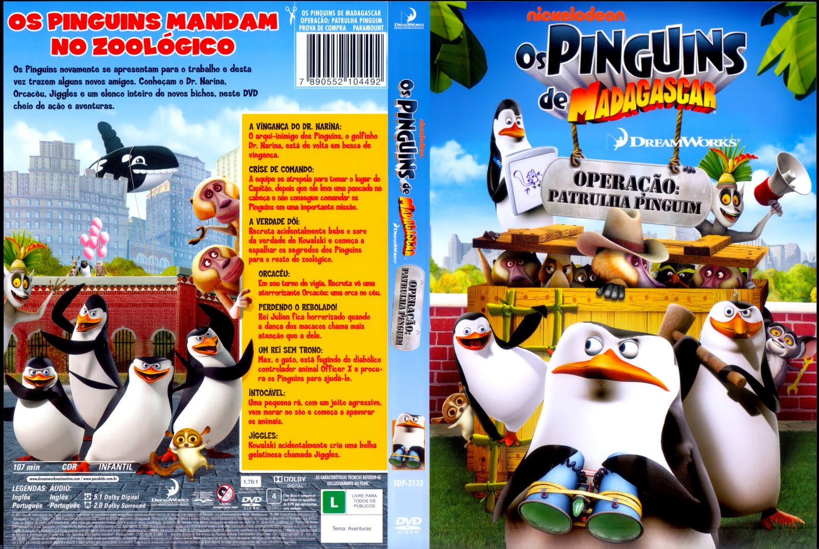 Os Pinguins De Madagascar - Operação Patrulha Pinguim