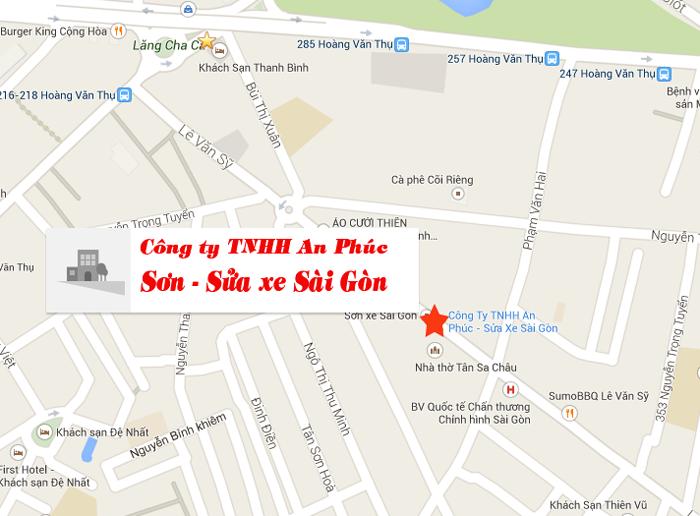 Bản đồ công ty TNHH An Phúc