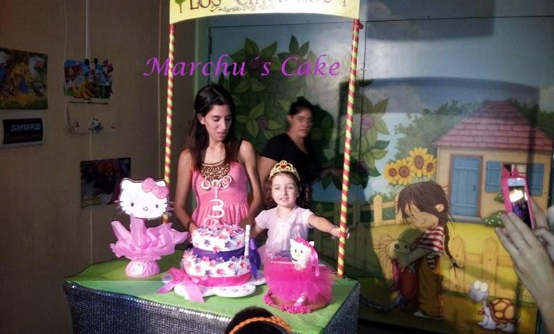 """Torta artesanal """"Kittie bailarina"""""""