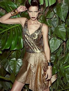 Magazine Photoshoot : Amanda Wellsh Photoshoot For Vogue Magazine-Brasil Dezembro 2013