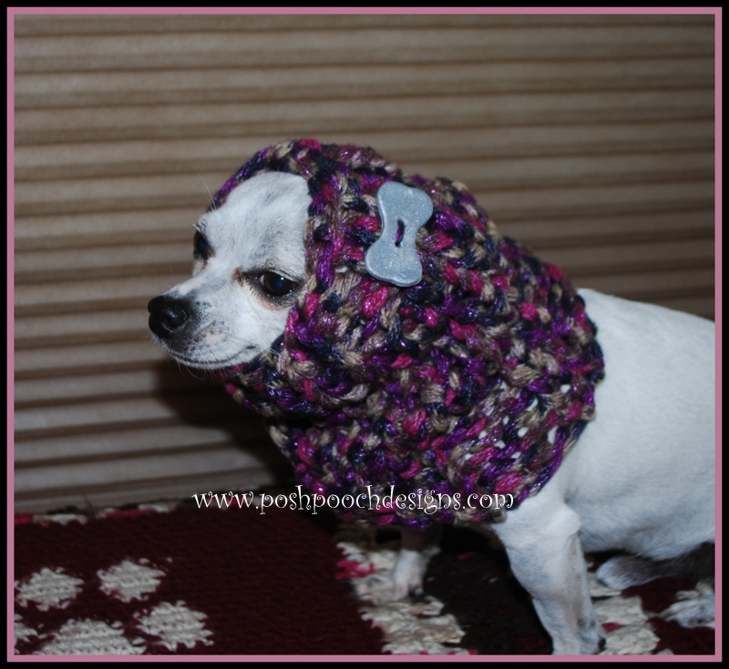 Dog Snood Knitting Pattern : Posh Pooch Designs Dog Clothes: Free Knitting Patterns