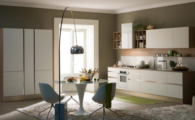Consigli d 39 arredo il colore dried herb nell 39 arredamento - Pittura per cucina classica ...