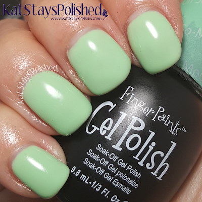 FingerPaints Gel Polish - Paint Me Oh-So-Modern! | Kat Stays Polished