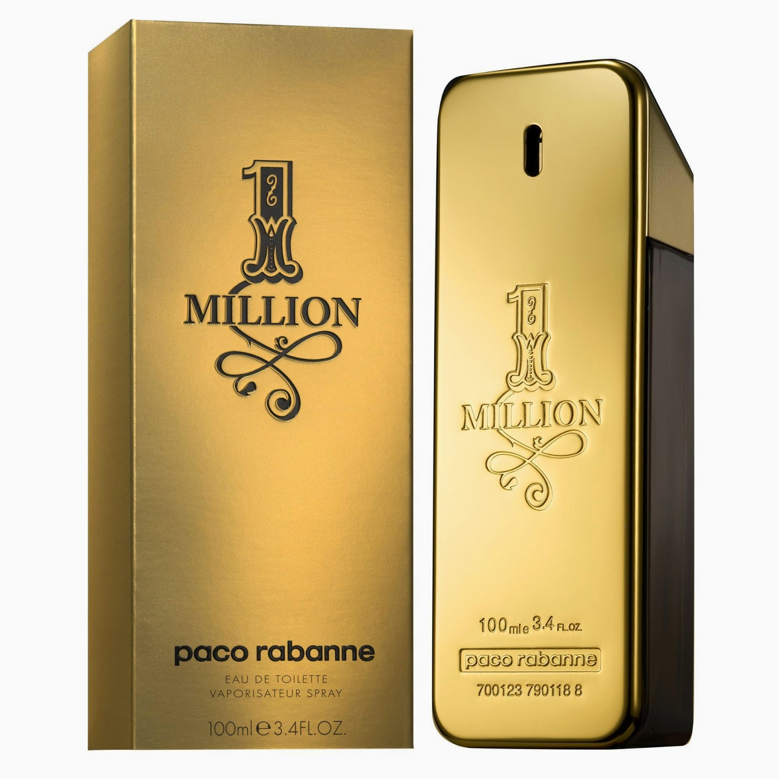 top perfume 2014, top perfume 2014 men, one million, paco rabanne
