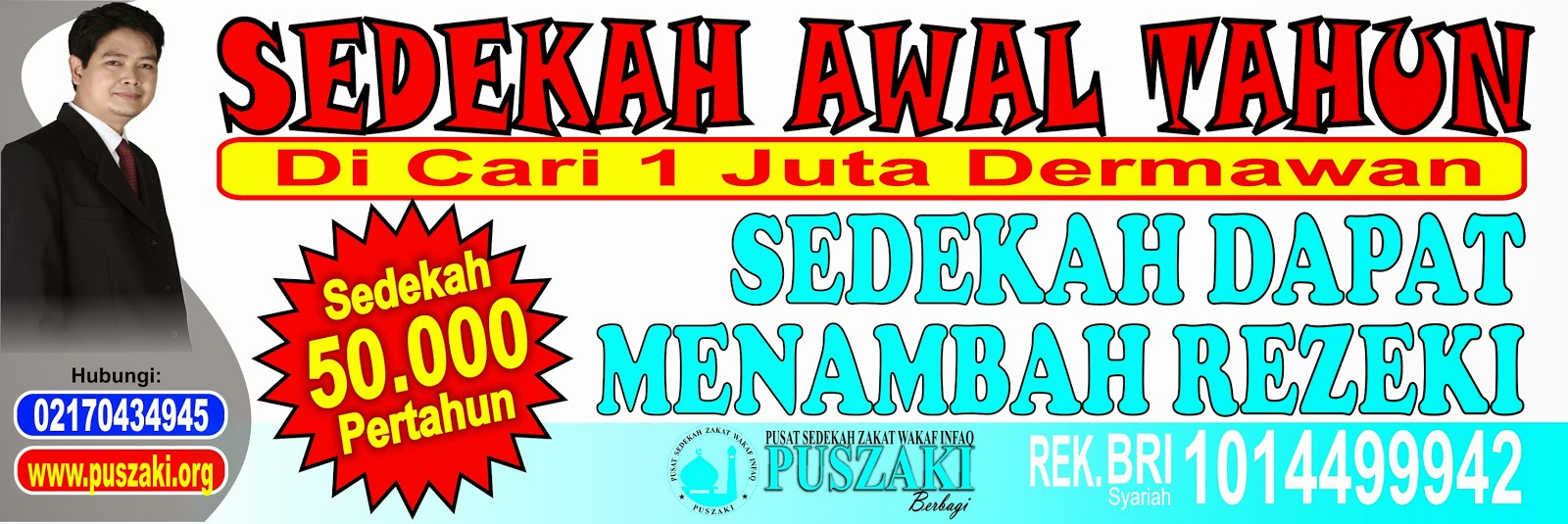 Pusat Sedekah Zakat Wakaf Infaq Indonesia