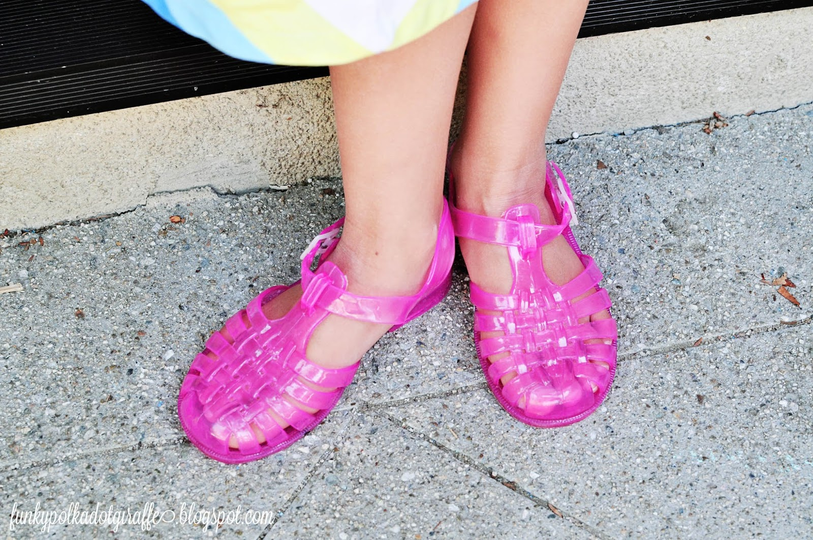 Wide Jelly Shoe