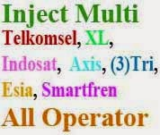 Inject Indosat XL Axis Telkomsel 3 Three Yang Work 14 Agustus 2014