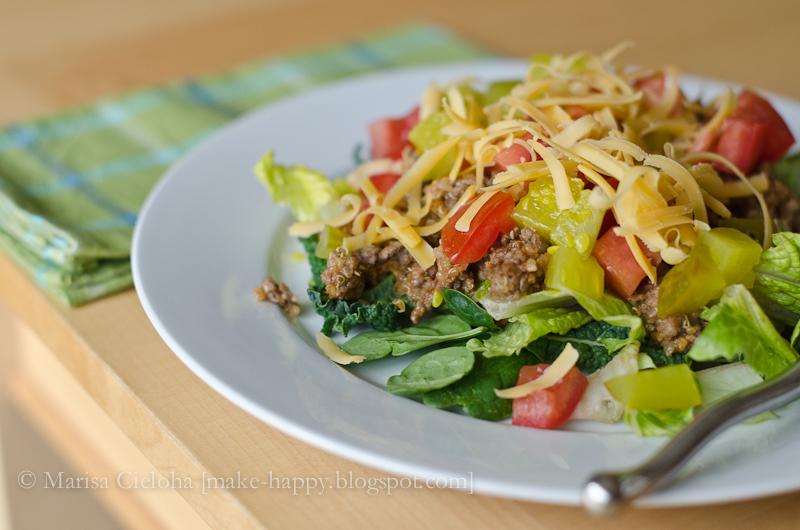 Cheeseburger Salad Recipes — Dishmaps