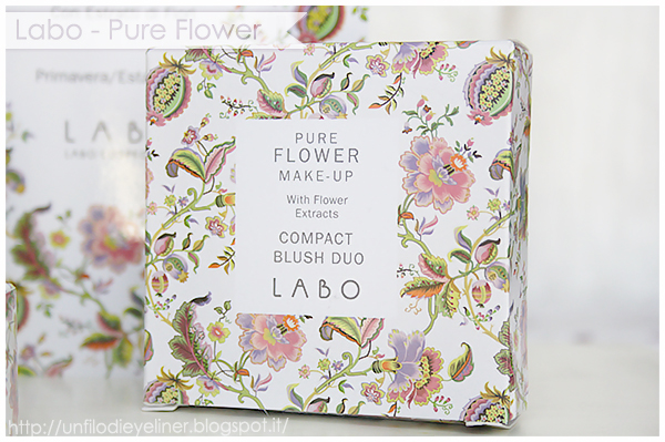 Labo Cosmetics - Pure Flower Make Up Swatches & Make up