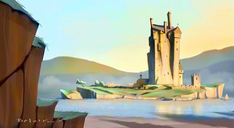 Francois Belair Concept design Castle