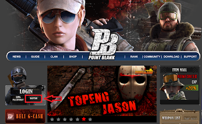 Gemscool Forum Login Dan Cara Daftar Point Blank Indonesia 2013