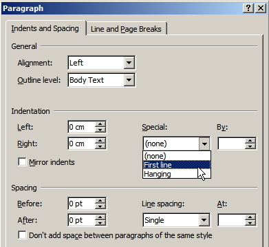 how to put paaragraph p in powerpoint