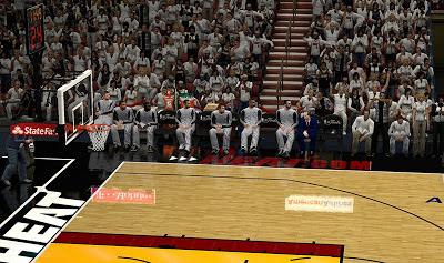 NBA 2K13 Finals Playoffs Crowd Arena
