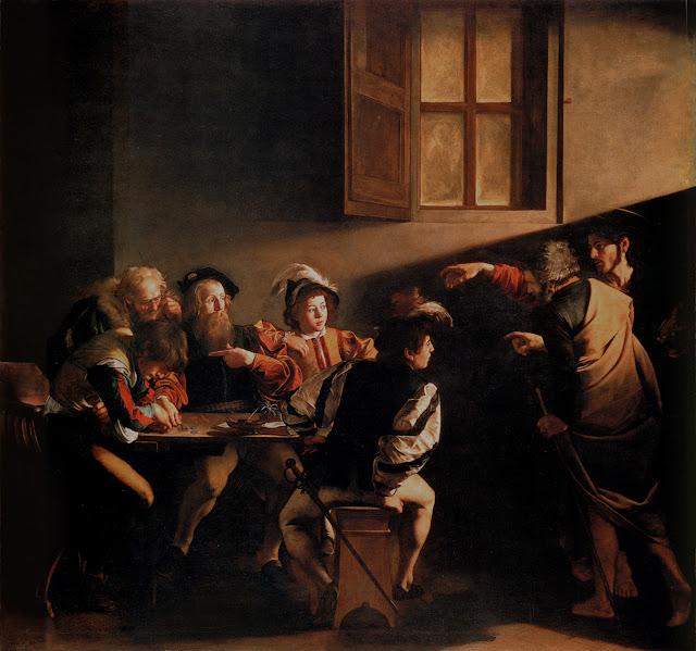 A Vocação de São Mateus de Caravaggio