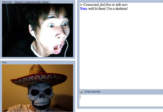 Funny and best photo for must to see chatroulette's moment