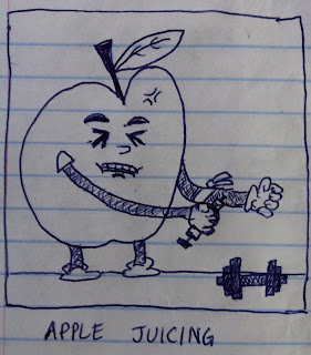 the apple is taking steroids