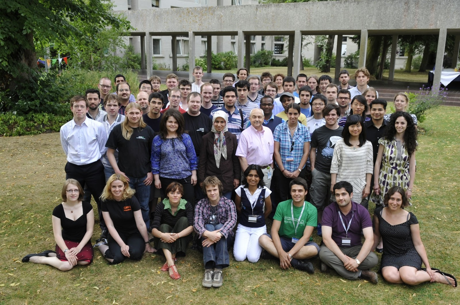Microsoft Research Group Shot