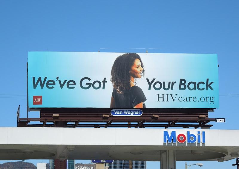 HIV Care billboard