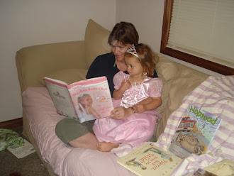 Reading to my Little Princess
