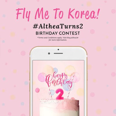#AltheaTurns2 Birthday Contest