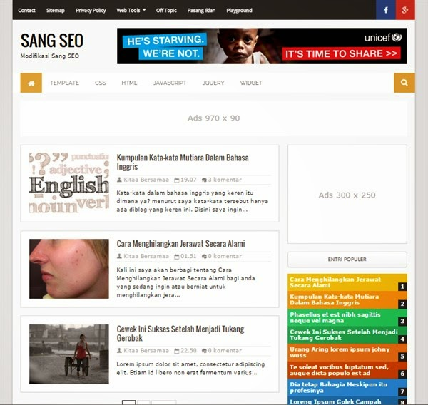 Sang SEO Modifikasi, Redesign