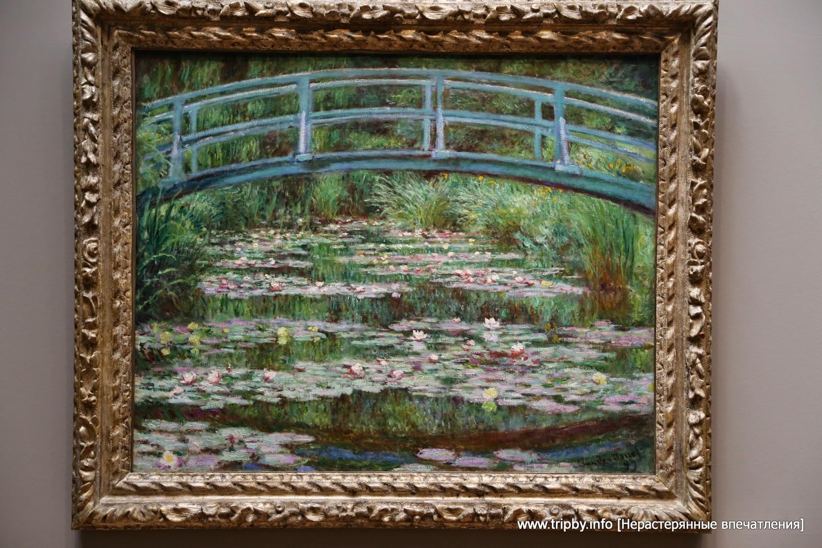 Клод Моне. Японский мостик