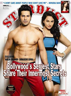 Sonakshi Sinha - Stardust Magazine Jan 2013 Photoshoot