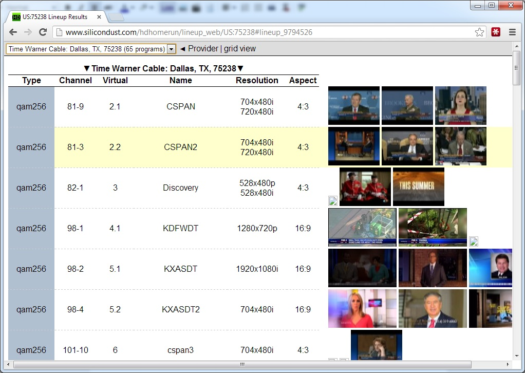 Will's Blog: SiliconDust HD Homerun and Windows 7 Media Center