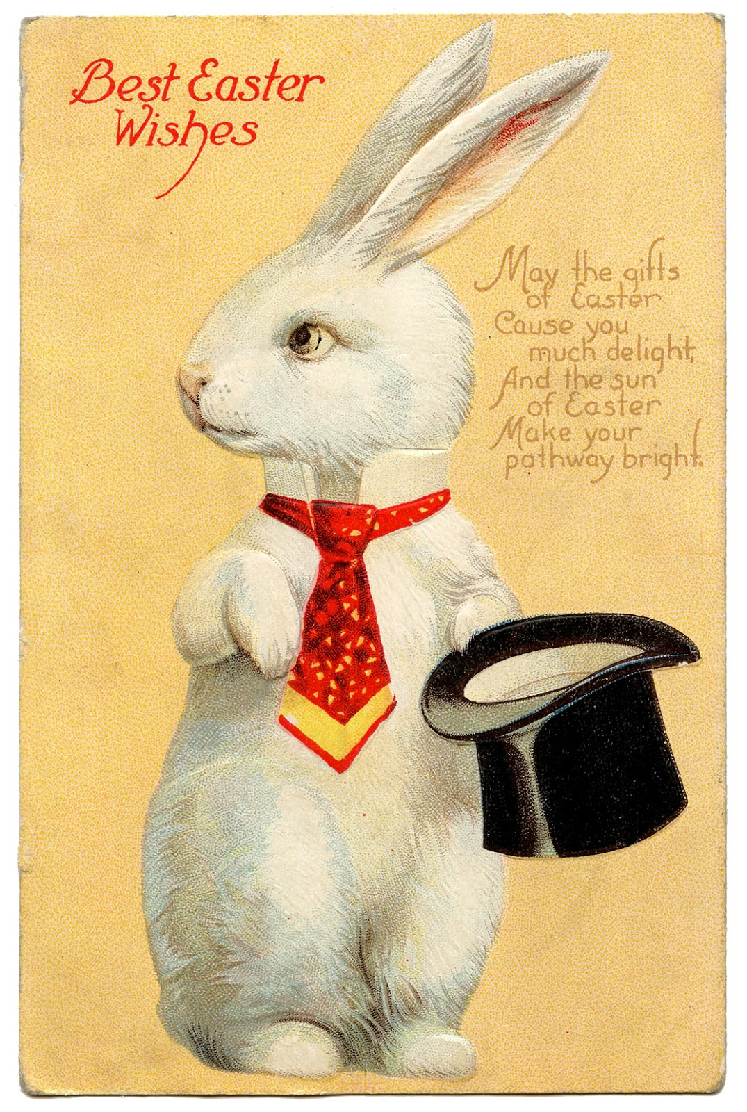 vintage easter bunny - photo #42