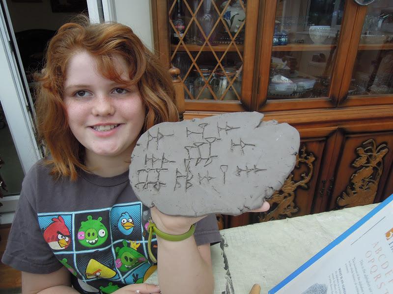 grade cuneiform 6th activity
