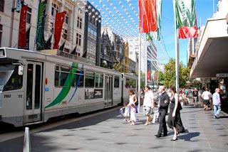 Excellent Tram System Melbourne Australia