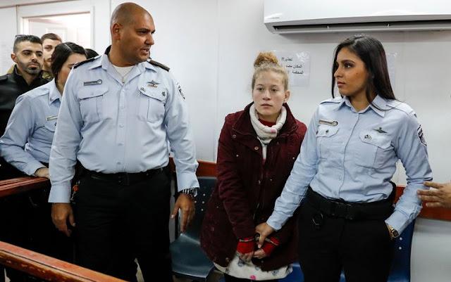 Η 16χρονη Παλαιστίνια θα κρατηθεί σε ισραηλινή φυλακή με την κατηγορία ότι πιθανώς είναι «επικίνδυνη»