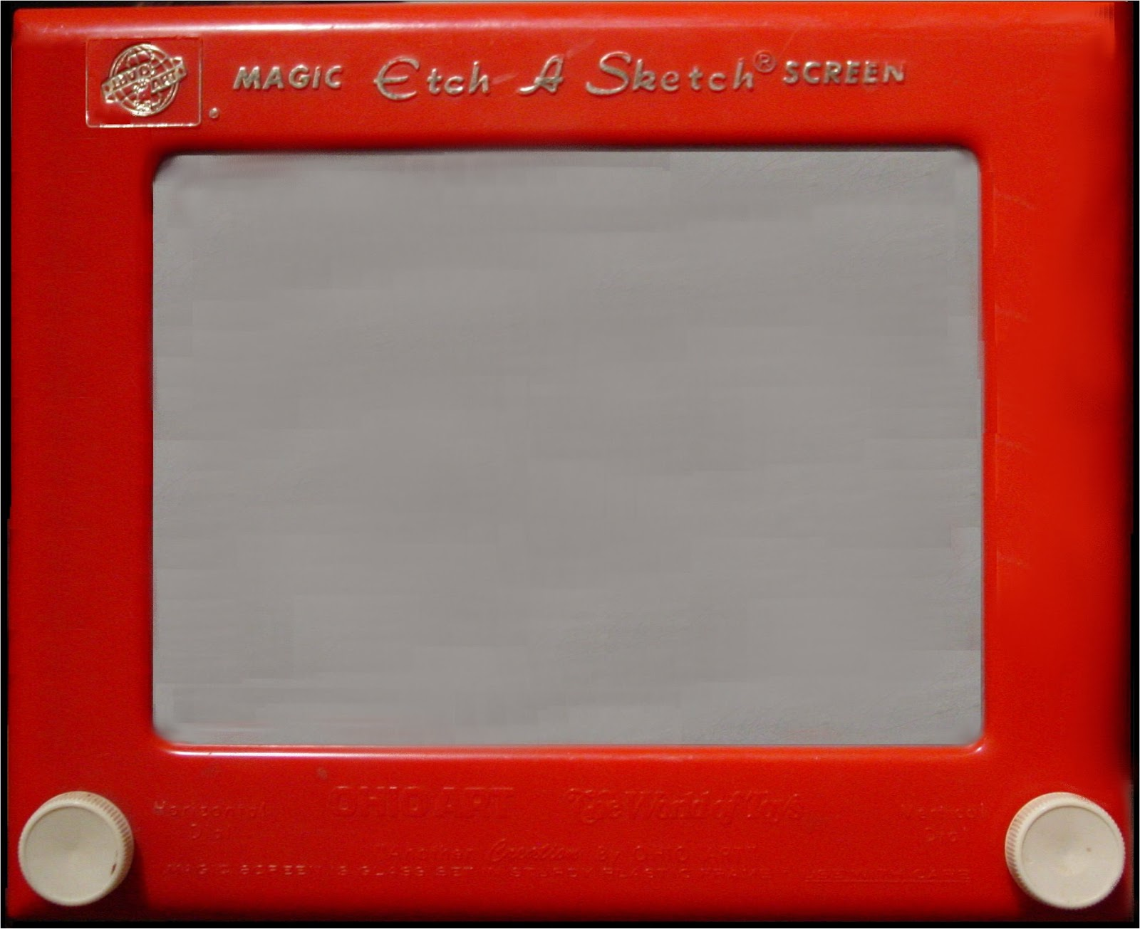 how to draw on an etch a sketch