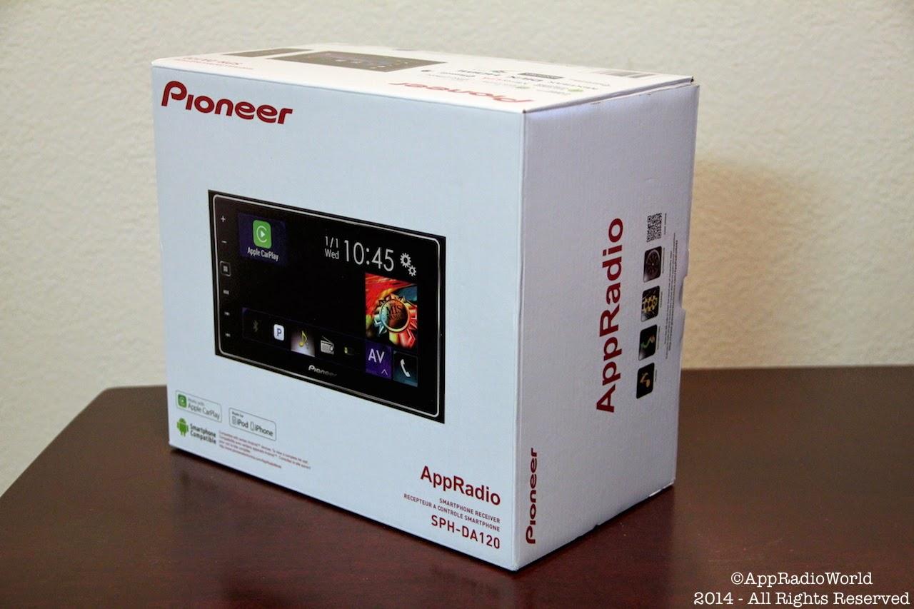 Pioneer SPHDA120 AppRadio 4 Add to my car t Toyota