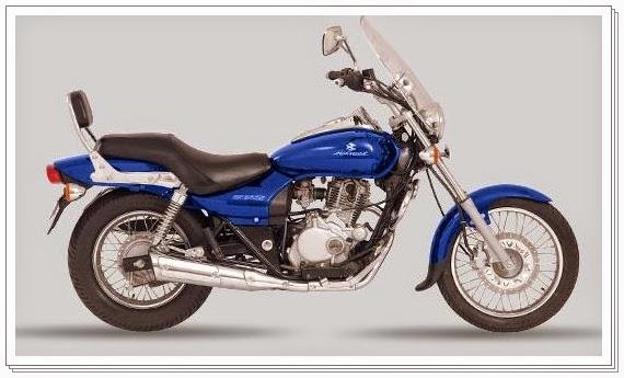 Bajaj Avenger 220 cc blue color